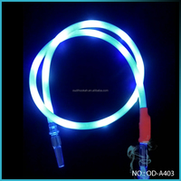 Hot Sale Hookah Accessories Electric Silicone Light Hookah Hose