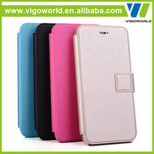 Slim leather pu material phone accessories mobile case factory in china