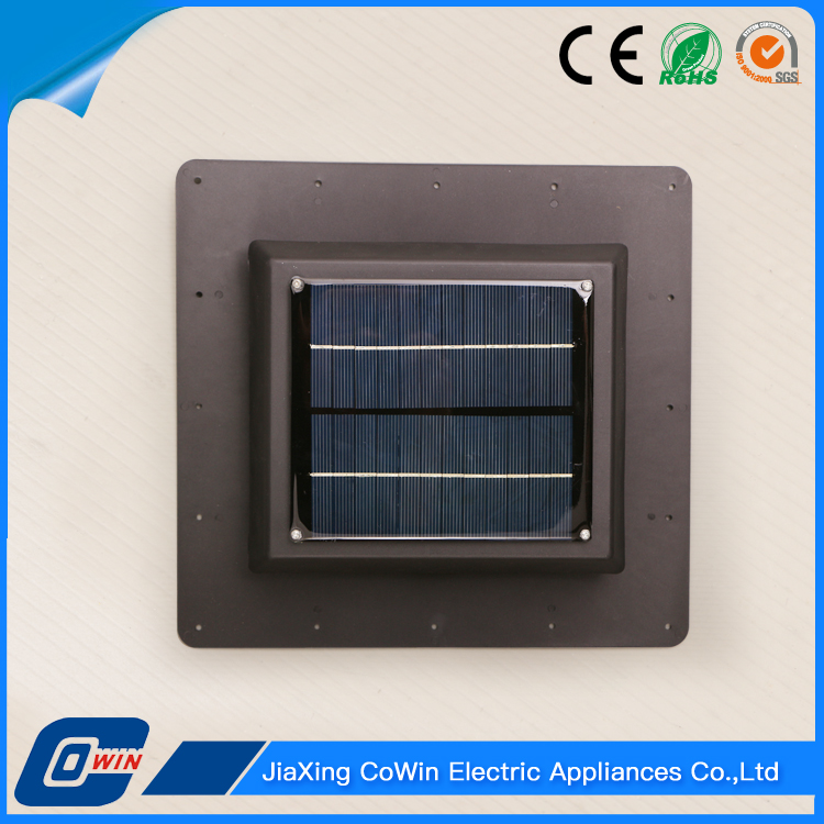 High Quality Rechargeable Solar Panel Roof Exhaust Fan