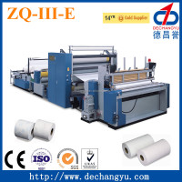 CE,ISO Certification toilet paper roll converters machine
