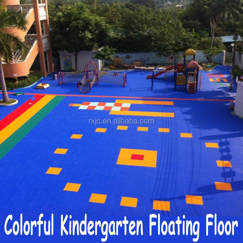 environmental safe PP kindergarten classroom flooring
