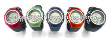 Multi-colorful Wireless Heart Rate Watch alarm/Exercise Watch heart rate DH-120