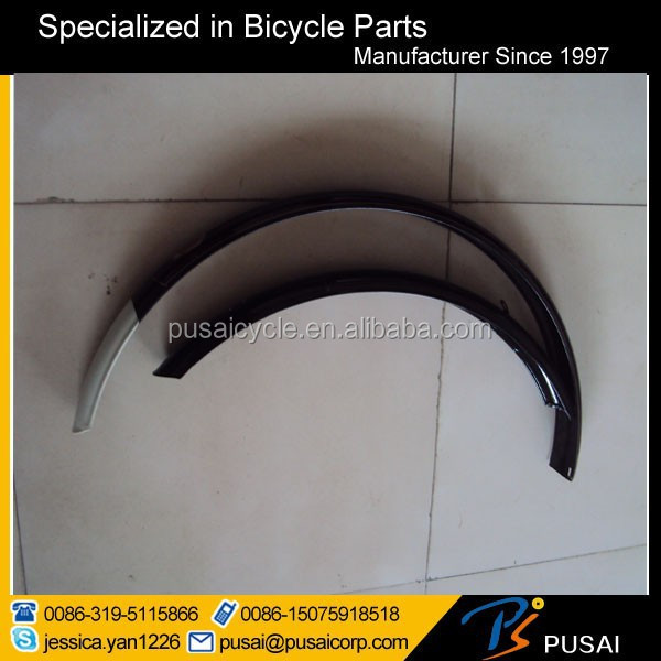 china cheap steel traditional 28 bicycle fender supplier