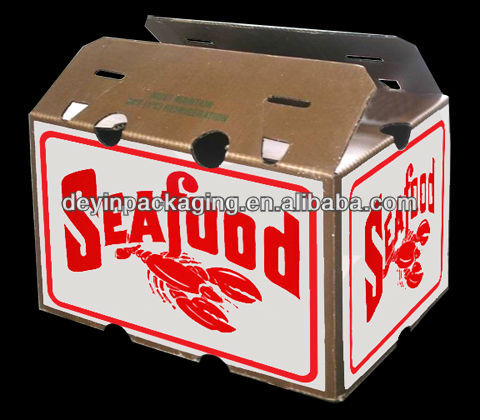 seafood fresh-keeping wax paper box