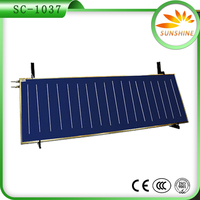 High efficiency BLUE TINOX solar collector for water heating