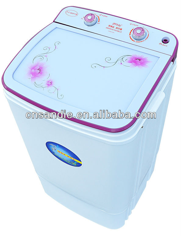 7.0kg commercial single tub semi automatic mini portable used washing machine for sale