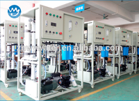 50lph Desalter Saline Filter Water Treatment Equipment