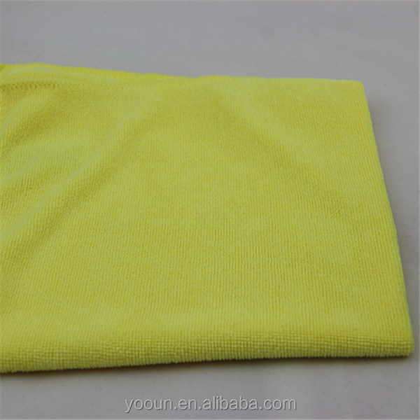 40*40cm No-lint High Absorbent Long Plush Detailing Ultra Thick Buffing Cloths Microfiber Car washing Towel