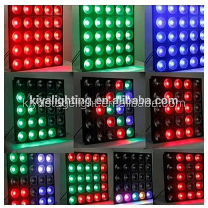 dental matrix band ,high quality professional 25pcs*10w RGBW 4 in 1 led matrix light