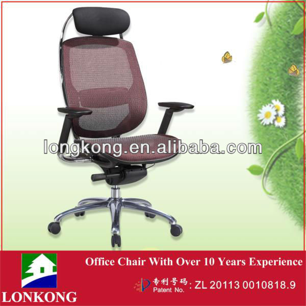Hot sale boss office chair with multi-functional armrest
