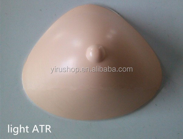 Breasts Triangular Shape Artificial Nipple Silicone Oil Mastectomy Silicone Insert Boob Cancer Women