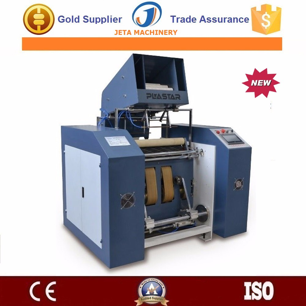 [JT-QCF500]Automatic stretch film rewinding machine