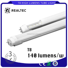 Top Quality 4FT 1200mm 12.5W 140 Lumens/w LED T8 Tube Light with 3 years warranty