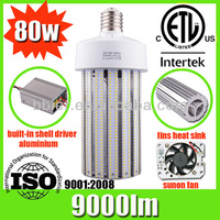 Bbier 14S LED Retrofit Fin Corn Lamp- low power consumption 80w e27 led corn bulb light