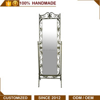 Classical antique giant full body standing mirror