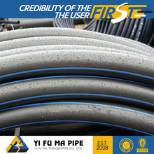 High Density Black HDPE Water Plastic Pipe Roll