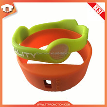 Wholesale great quality basketball silicone wristband for sport