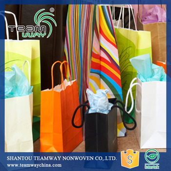RPET Stitchbond Non woven for Shopping Bag
