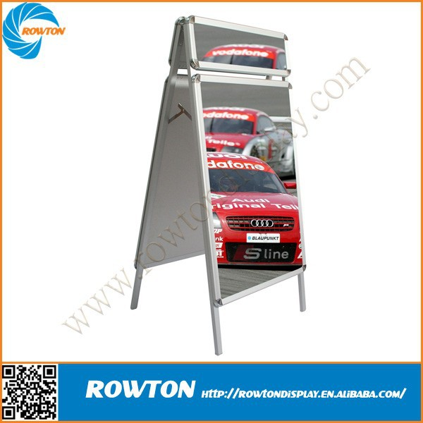 Metal sidewalk sign aluminum pavement sign A board signs