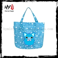 Plastic pp non woven bag, cloth bag, collapsible shopping bag made in China