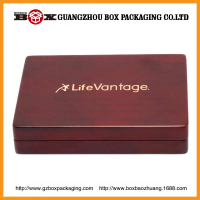 Handmade high quality fancy customize coin box wooden coin box