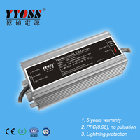 Waterproof 65w 45~62V 1.05A LED driver with high efficiency 91%
