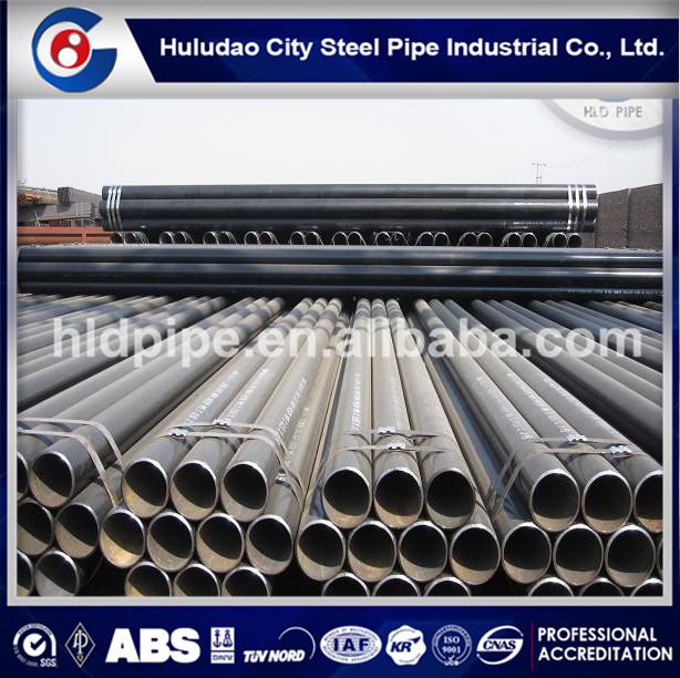 API 5L ASTM A106 A53 seamless steel pipe used for petroleum pipeline API oil pipes tubes