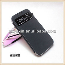 Hot selling leather case for samsung galaxy s4 mini I9190,for samsung galaxy s4 mini i9109 case