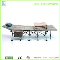 Outdoor portable cheap folding bed