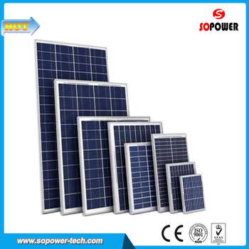 Wholesale China 200 Watt Solar Photovoltaic Electric Power Panel