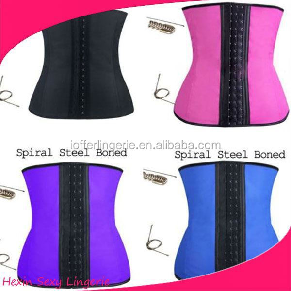 factory outlet steel boned 4 colors 11usd rubber latex bondage suit