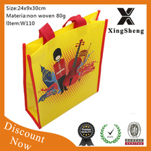 Top quality portable eco-friendly Factory supply waterproof reusable folding trolley shopping bag