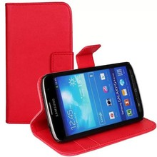 wallet leather case for samsung galaxy s4 active,flip cover for samsung galaxy s4 active