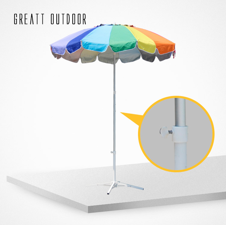 300cm Diameter luxury quality Patio Beach Umbrella