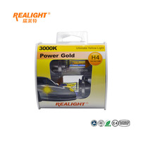 Yellow Xenon Halogen Fog Lamp H4 12V for Rain Fog Day