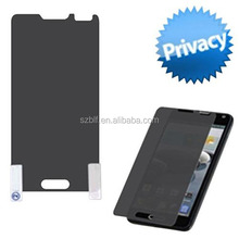 2014 new designed anti-spy privacy pet film manufacture price Custom Made secret screen protector