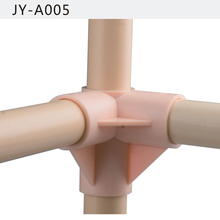 Flexible 3-way connector Plastic Pipe Joints JY-005