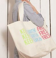 customized environmental wholesale cotton canvas tote bag