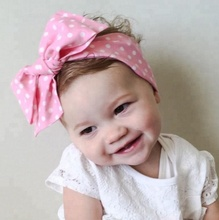 Wholesale Baby Cotton <strong>Headbands</strong>, Wholesale Bow Tie Baby <strong>Headband</strong>, Fashion Baby Girl Accessories