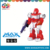 electrical small robot with light and music battery power robot can 360 degree rotation fun battery operated robot for children