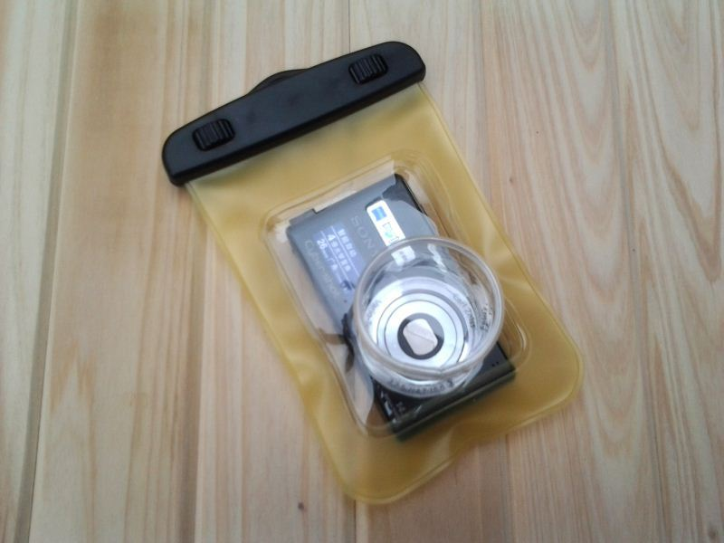 China supply pvc waterproof camera case