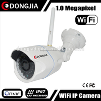 DONGJIA DJ-IPC-HD2302CW Network Outdoor Audio 1 Megapixel Infrared Cmos Sensor Wireless IP Camera 720P