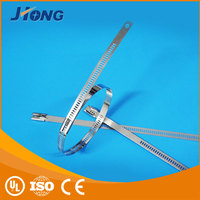 trade manager for mobile cable zips ladder type stainless steel cable tie with Multi Lock Type