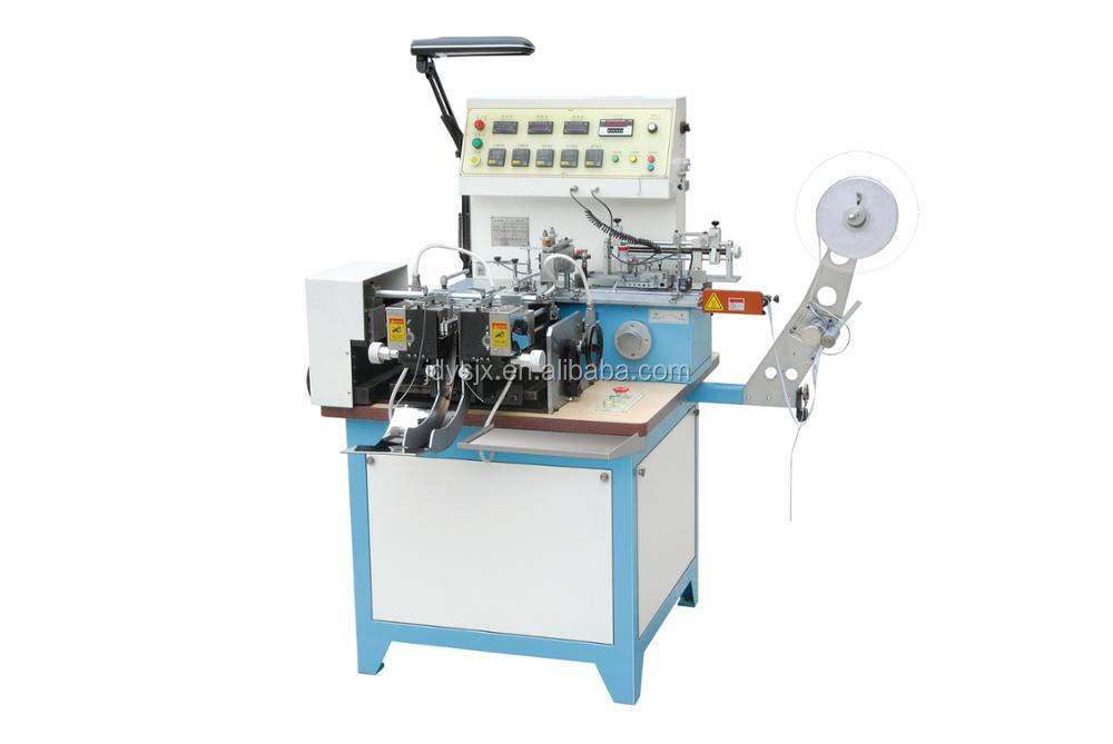 Satin Label Cutting and Folding Machine ( JZ-2817 )