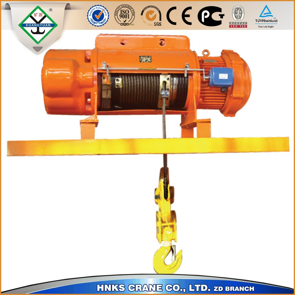 Efficient Electric Casting Steel Rope Hoist 10 ton capacity