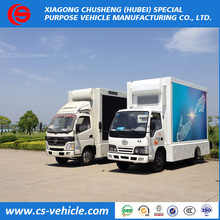 Sinotruk HOWO 4X2 Full Color LED Mobile Stage Truck For Sale