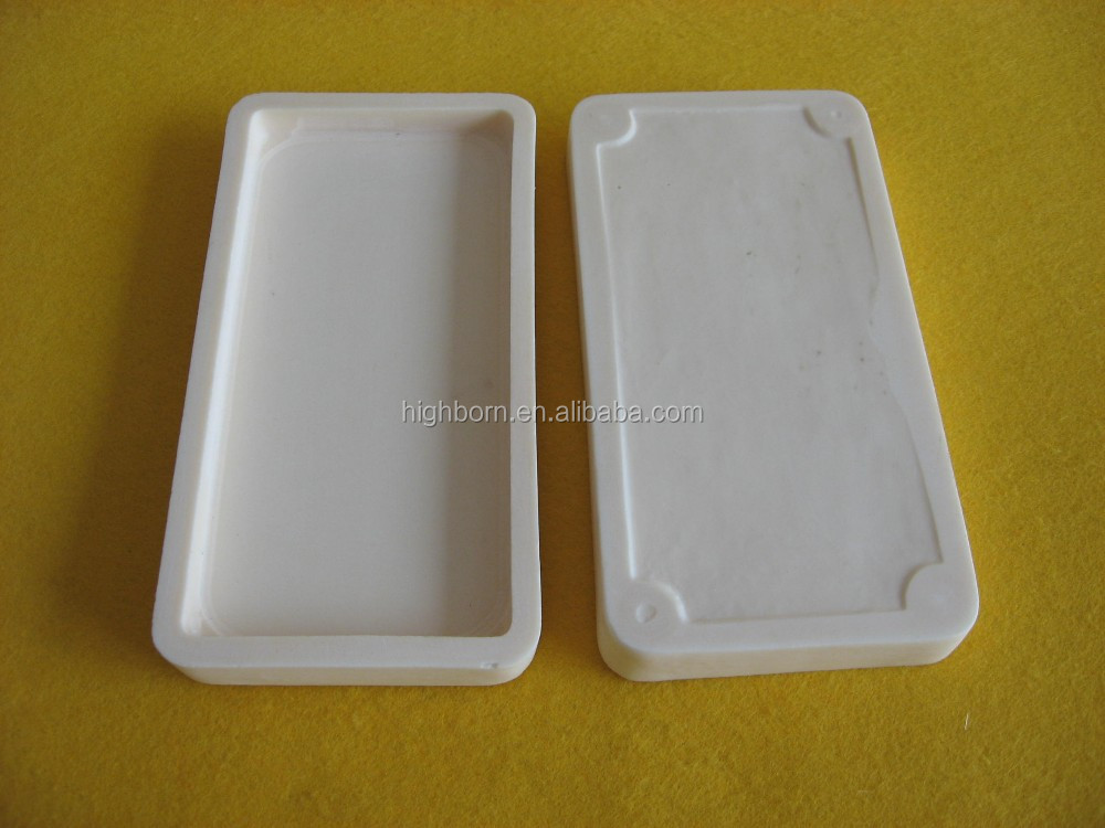 99.5% grinding smooth surface alumina ceramic tray