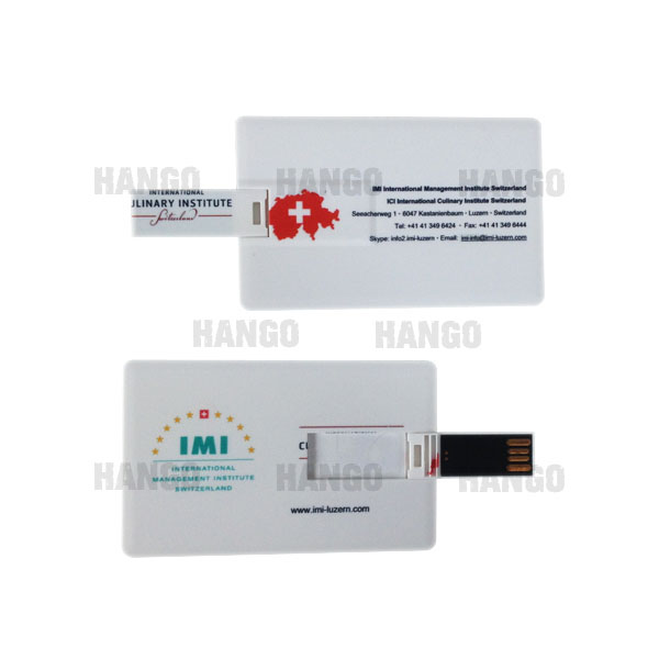 Ultra Thin Credit Card Size Pocket 1GB 2GB 4GB USB Flash Memory