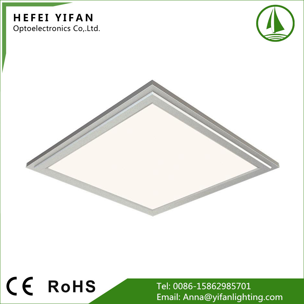 Classic model white housing fast delivery 100-240v hot sell led panel light with 3years warranty