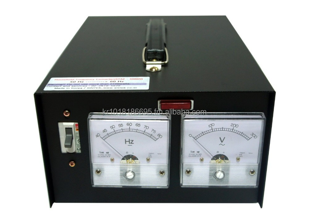 HOME FREQUENCY CONVERTER for Household /50Hz - 60Hz / 2000w / 2kw / 110v,120v,220v,240v